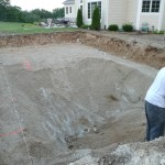 Your Vinyl Liner Inground Swimming Pool will not Settle or have Issues Due to Poor Soil.