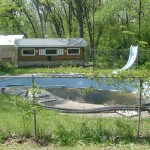 Old Fiberglass Inground Swimming Pool
