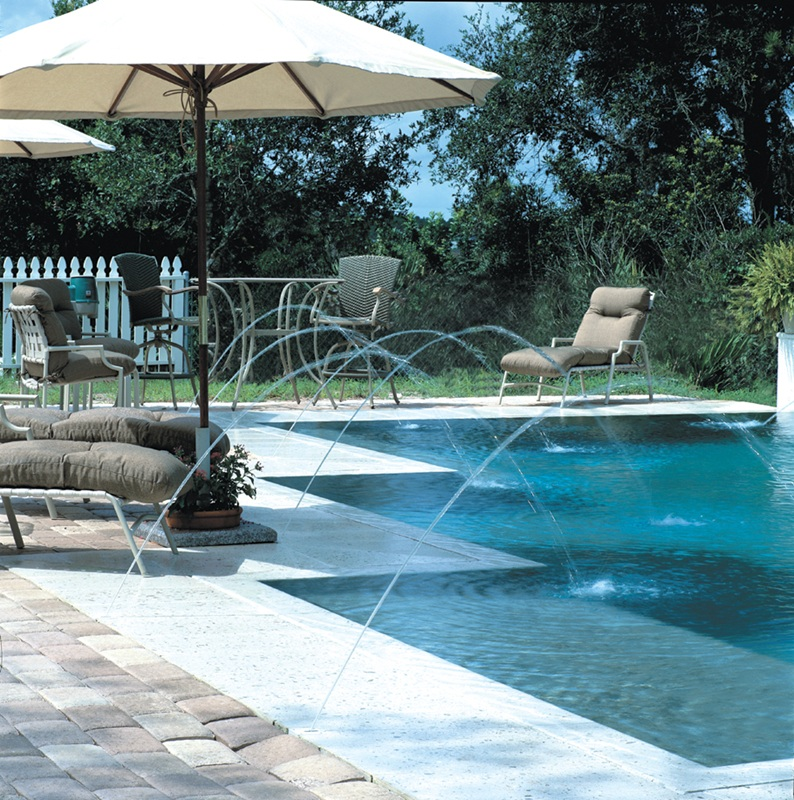 Swimming Pool Fountains Waterfalls Deck Jets