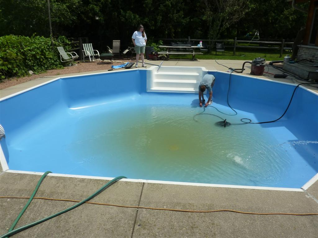 Octagon Pool Liner Replacement