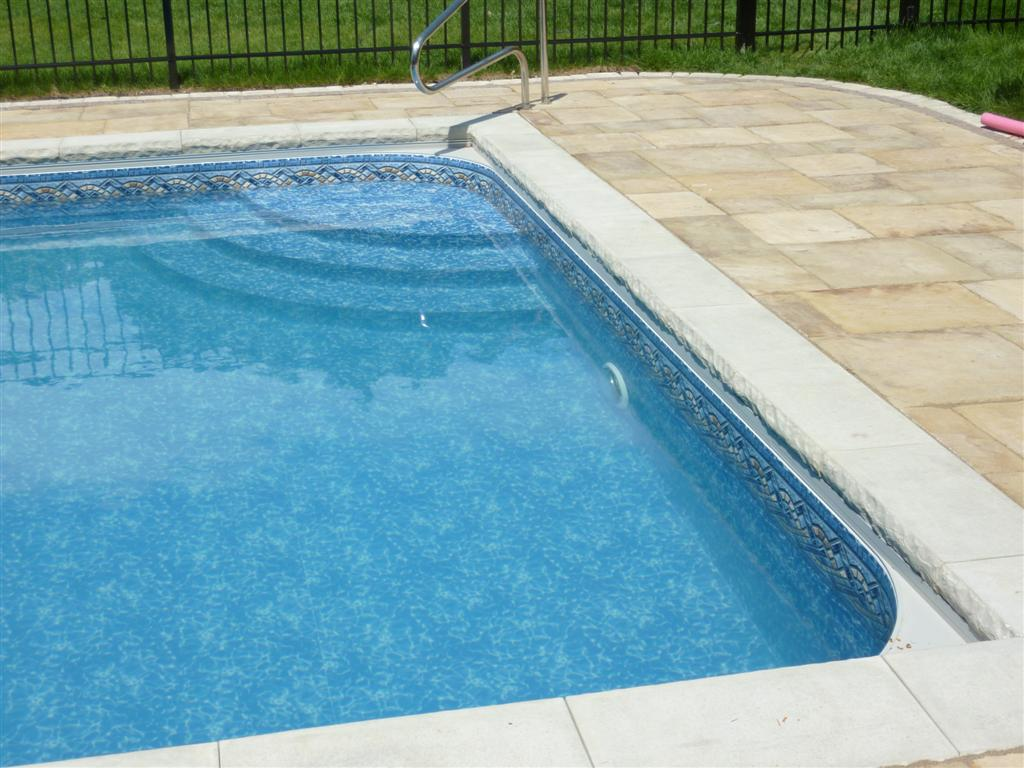 Stone Pool Surround