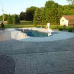 Finished Inground Fiberglass Swimming Pool