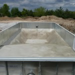 Pour Vermiculite Swimming Pool Bottom