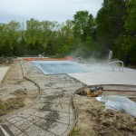Stamp Concrete Around Vinyl Liner Pool