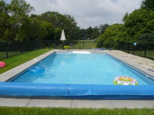 Merton, WI Inground Swimming Pool Cantilevered Concrete