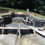 Concrete Pool Forms Set for Concrete