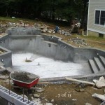 Finished Inside of Concrete Pool