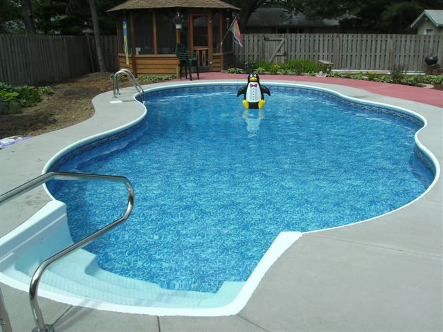 Completed Inground Swimming Pools Amp Landscaping