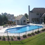 Grecian with Pool House, Fire Pit in Muskego APSP Winner