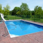 Fiberglass Removed and Liner Swimming Pool