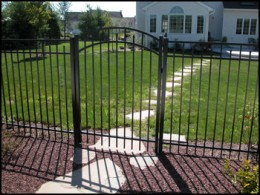 Accent Fence Gate