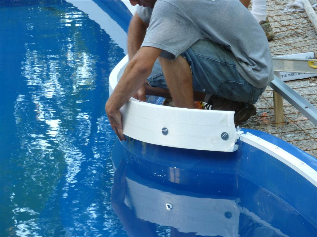 Step 12 Penguin Pools Installs Forms For Cantilever Concrete Step 12: Penguin Pools Installs Forms for Cantilever Concrete