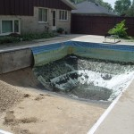Old Pool Walls & Liner Removal