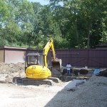 New Pool is Dug and Area Graded in Wauwatosa