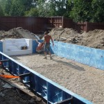 Vermiculite Swimming Pool Bottom Poured in Wauwatosa, WI
