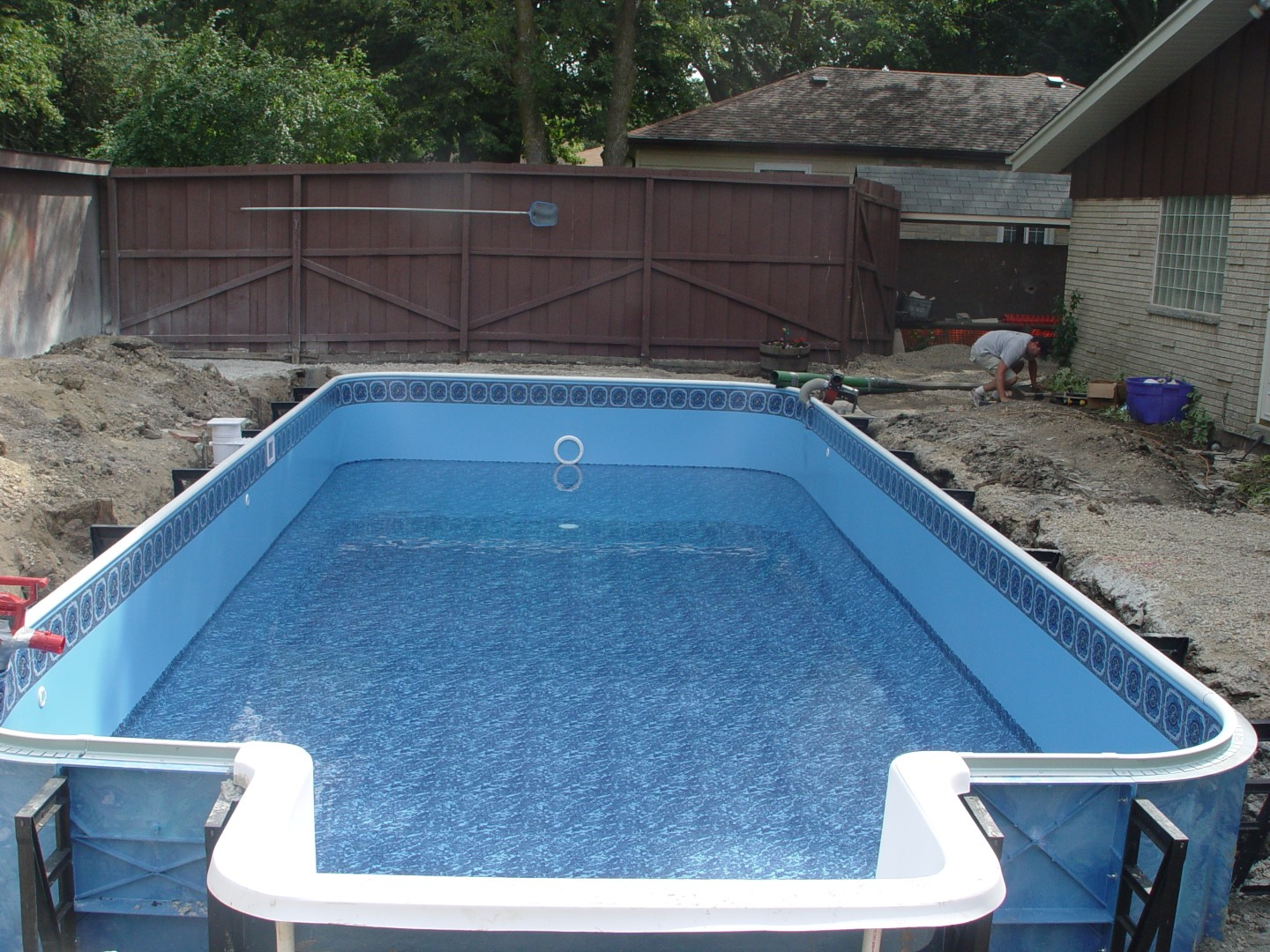 Pool Remodel with New Steps