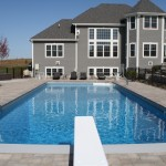 Rectangle Vinyl Liner Swimming Pool in Yorkville, WI