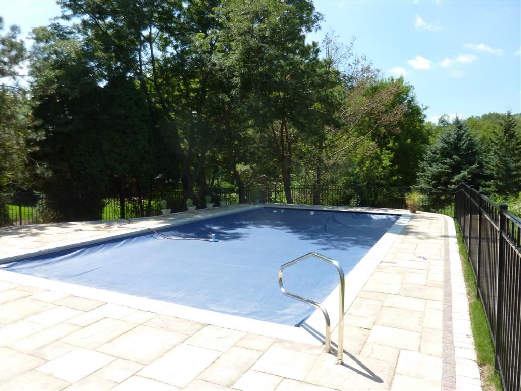 penguin pools rectangle vinyl liner pool in greendale wi