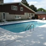 New Concrete Poured in Wauwatosa Swimming Pool