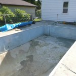 Pool Bottom Patched Up in Oak Creek WI
