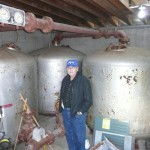 Huge Old Commercial Pool Sand Filters