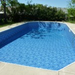 New Liner Installed in Pool; Oak Creek