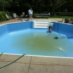 New Pool Liner Installed and Water Added, Shorewood, WI