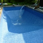 Water Added to New Vinyl Liner Swimming Pool