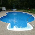 Kidney Liner Swimming Pool Renovation Waterford, WI