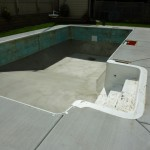 New Concrete Poured Around Old Milwaukee Swimming Pool