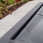 Stone Automatic Pool Cover Lid