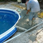 Vibrate the Concrete to Prevent Air Gaps in Pool Concrete