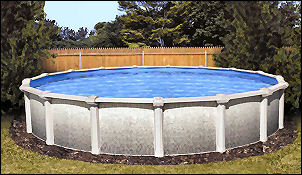 Standard Above Ground Pool with Aluminum Frame