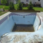 Foreclosed Vinyl Liner Swimming Pool gets Make Over
