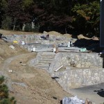 Concrete Pool Retaining Walls