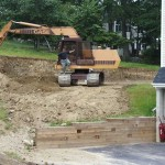 Excavation of Concrete Swimming Pool