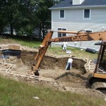 Digging a Concrete Swimming Pool