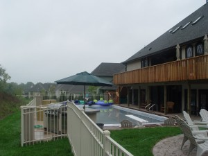 Aluminum Swimming Pool Fencing with Gates