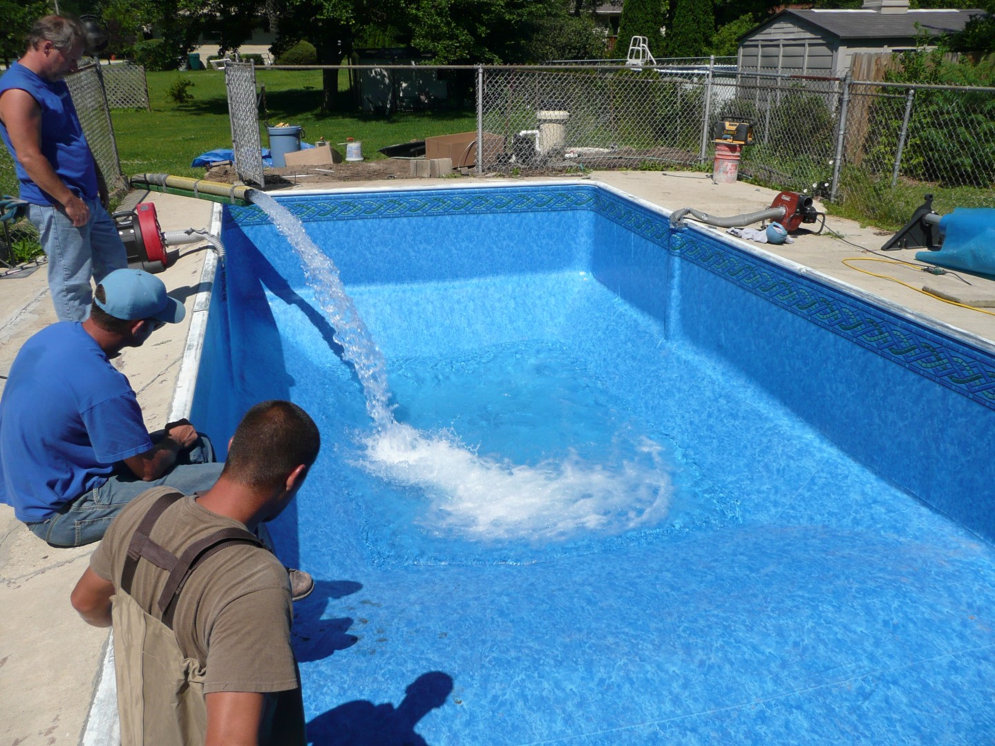 Milwaukee Swimming Pool Vinyl Liner Replacement
