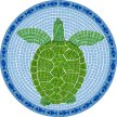 Swimming Pool Art, Turtle