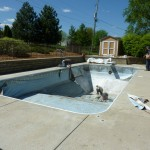 Fixing Pool Vermiculite after Liner is Removed