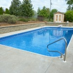 Vinyl Liner Replaced in Rectangle Swimming Pool in Brookfield, WI
