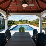 Pool House Gazebo with Bar & Grill