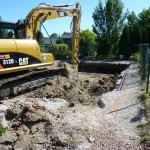 Swimming Pool Excavation in New Berlin
