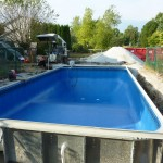 New Berlin WI Steel Walled Vinyl Liner Pool