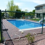 Fence Around Swimming Pool