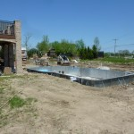 Steel Walls Installed for Vinyl Liner Pool in Franklin, WI