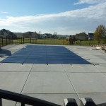 CoverStar Safety Cover over Rectangle Vinyl Liner Pool