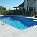Pool Concrete with Skimmer