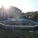 Pool Bottom Prior to Stone and Vermiculite